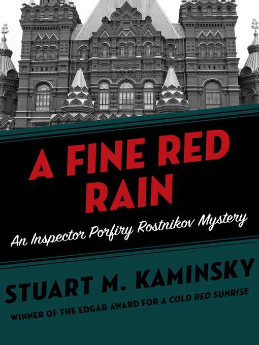 A Fine Red Rain (eBook): Inspector Rostnikov Series, Book 5