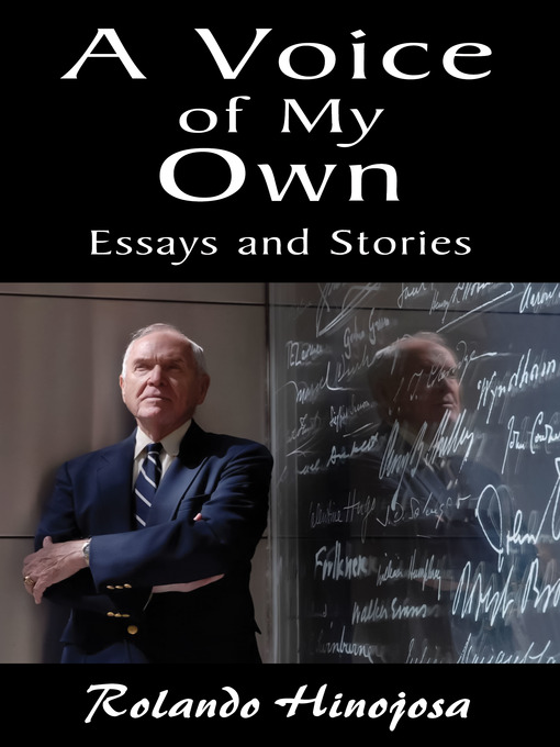 A Voice of My Own: Essays and Stories (eBook)