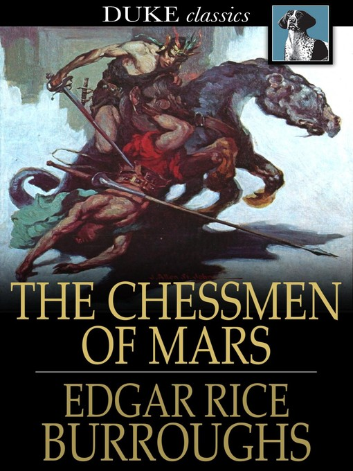 Cover image for The Chessmen of Mars