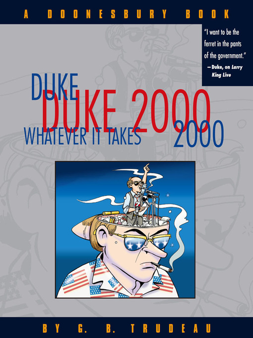Duke 2000 (eBook): Whatever It Takes