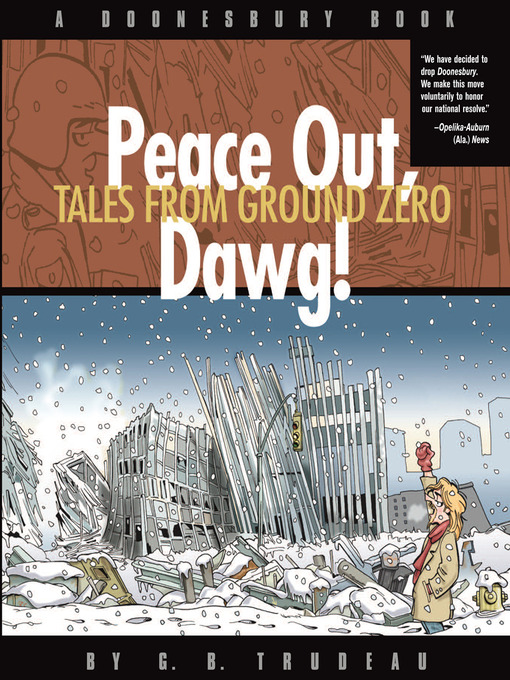 Peace Out, Dawg! (eBook): Tales from Ground Zero