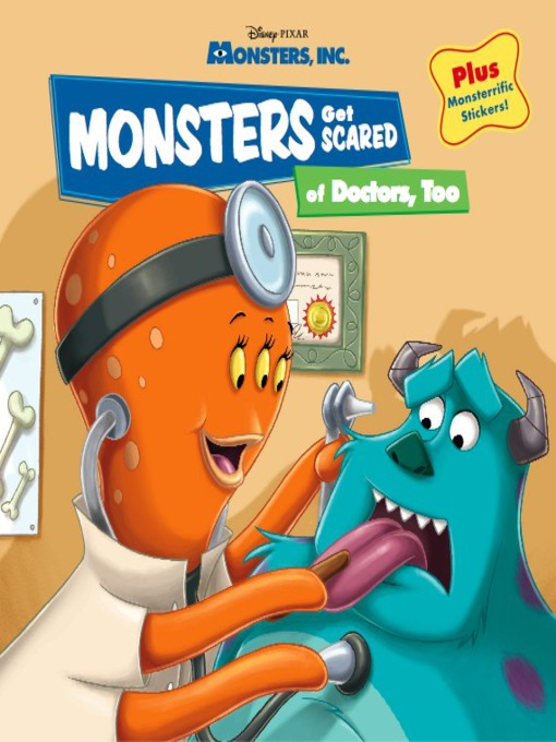 Monsters get scared of doctors, too