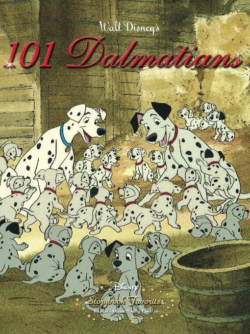 101 dalmatians vintage storybook