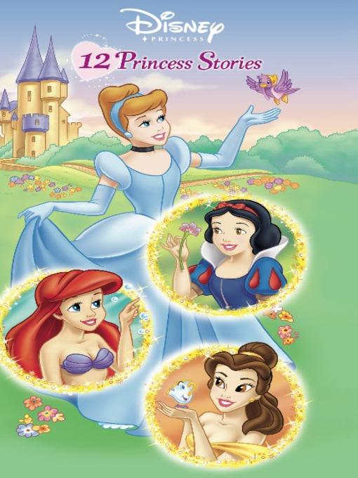 Click this cover for a(n) Disney Online eBook sample of 12 Princess Stories.