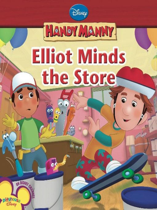 Elliot minds the store