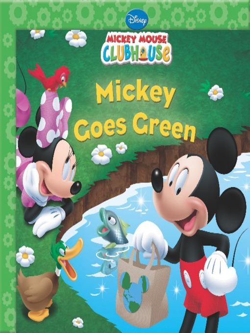 Mickey goes green