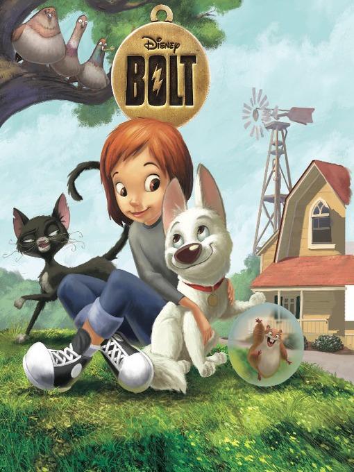 Bolt movie storybook