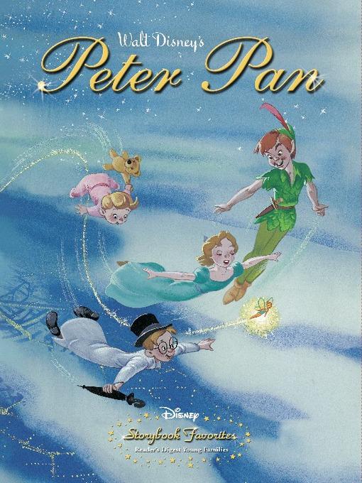 Peter pan vintage storybook