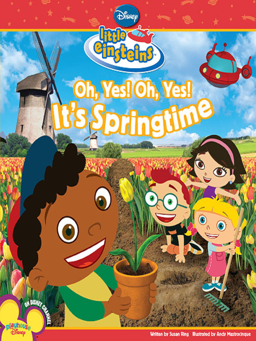 Oh, yes! oh, yes! it's springtime