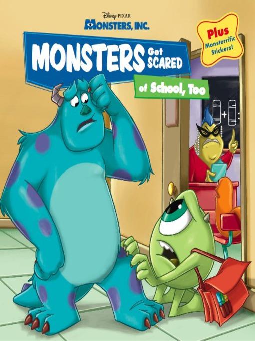 Monsters get scared of school, too