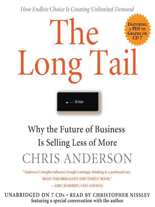 The Long Tail: Why the Future of Business Is Selling Less of More (MP3)