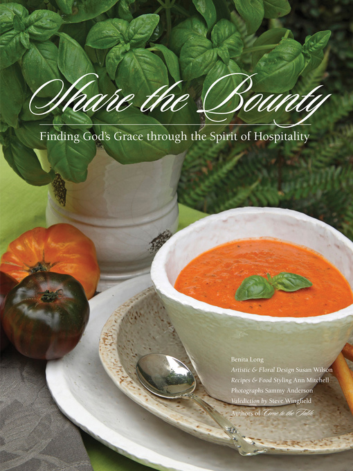 Share the Bounty: Finding God's Grace through the Spirit of Hospitality (eBook)