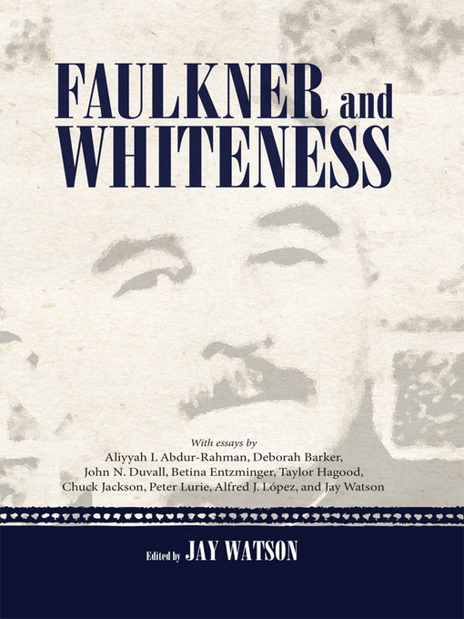 Faulkner and Whiteness (eBook)