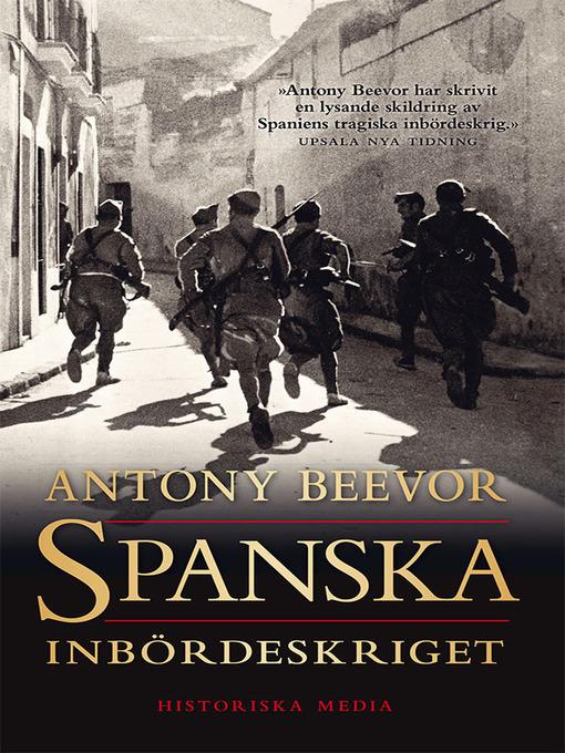 Spanska inbördeskriget (eBook)