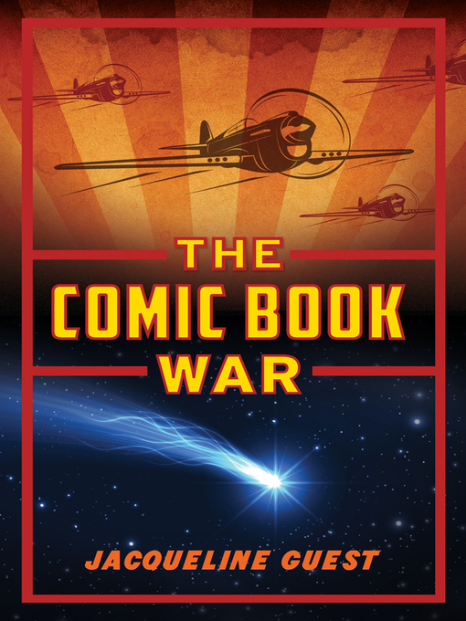 Cover Image of The comic book war