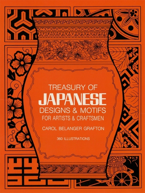 Treasury of Japanese Designs and Motifs for Artists and Craftsmen - Dover Pictorial Archive (eBook)