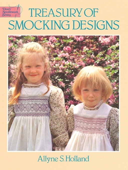 Treasury of Smocking Designs - Dover Embroidery, Needlepoint (eBook)