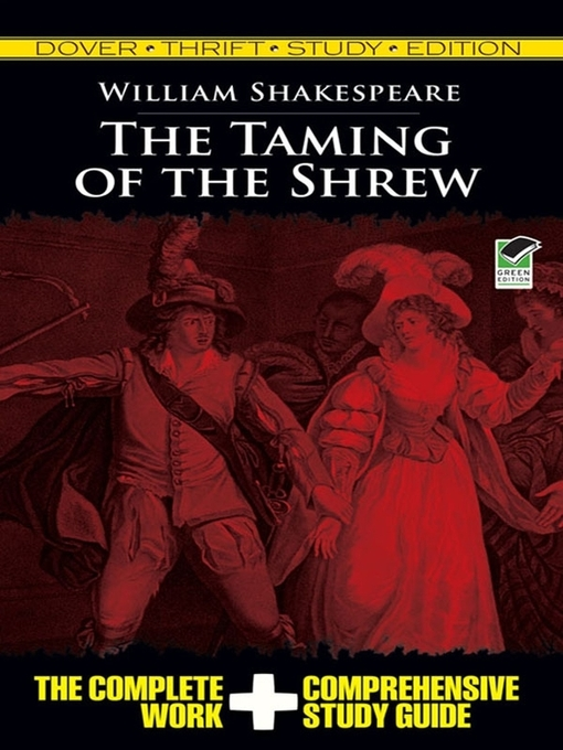 The Taming of the Shrew (eBook): Thrift Study Edition