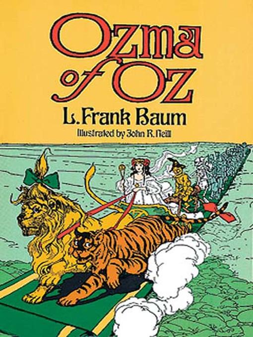 Ozma of Oz (eBook): Oz Series, Book 3