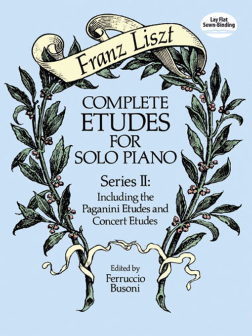 Complete Etudes for Solo Piano, Series II (eBook): Including the Paganini Etudes and Concert Etudes