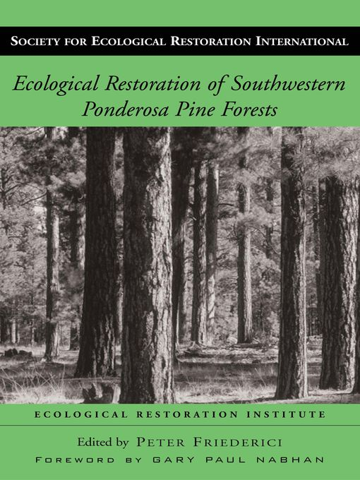 Ecological Restoration of Southwestern Ponderosa Pine Forests (eBook)