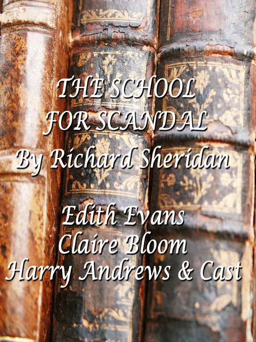The School for Scandal (MP3)