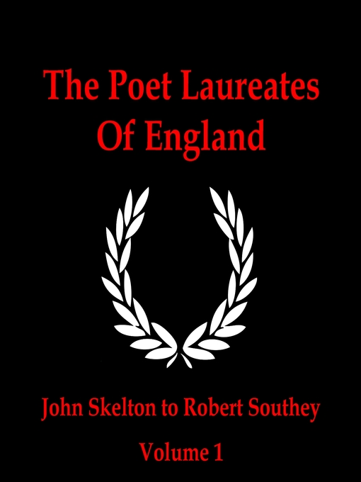 The Poet Laureates, Volume 1 (MP3): John Skelton to Robert Southey