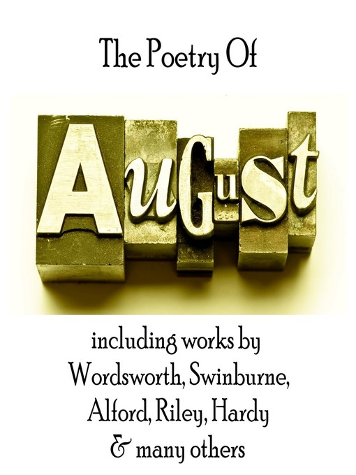The Poetry of August - A Month In Verse (MP3)