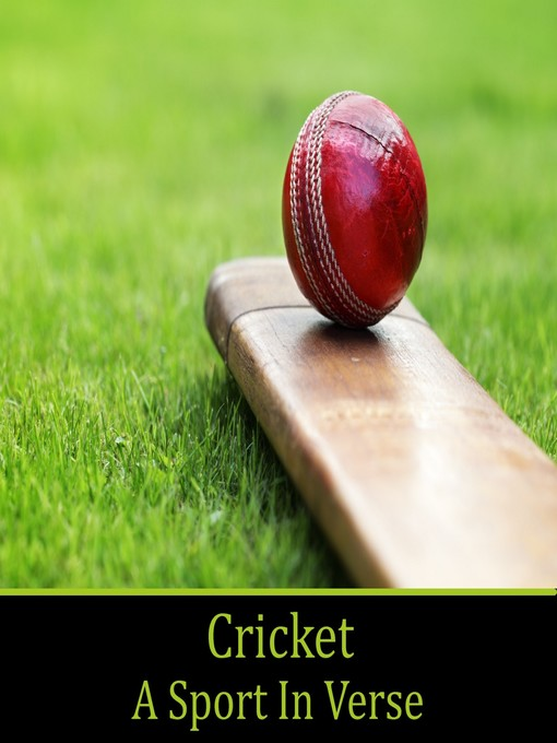 Cricket, A Sport In Verse (MP3)