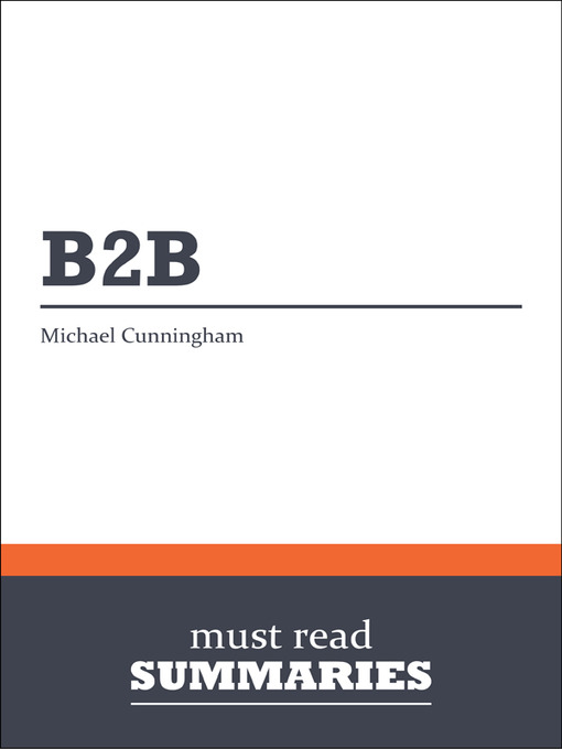 B2B - Michael Cunningham (eBook)