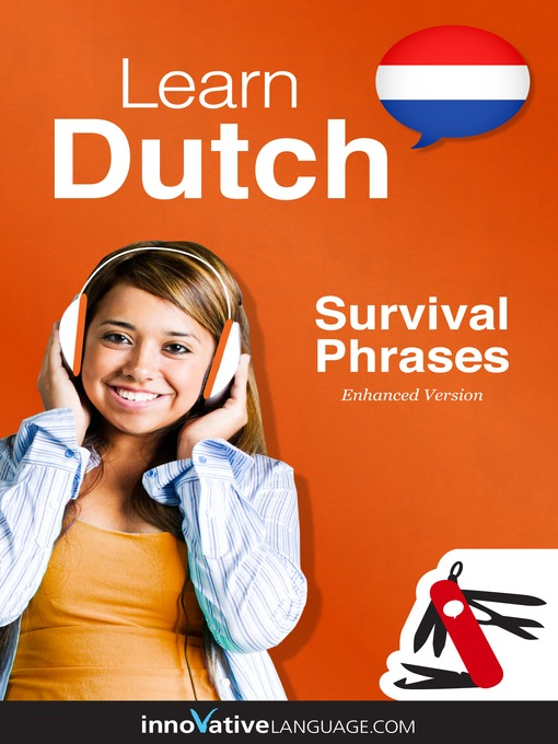 Learn Dutch - Survival Phrases Dutch (MP3): Lesson 1-60