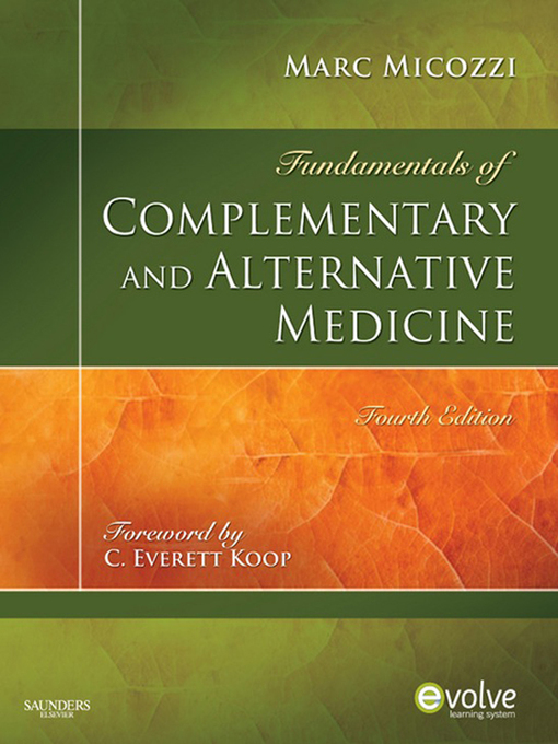 Fundamentals of Complementary and Alternative Medicine (eBook)