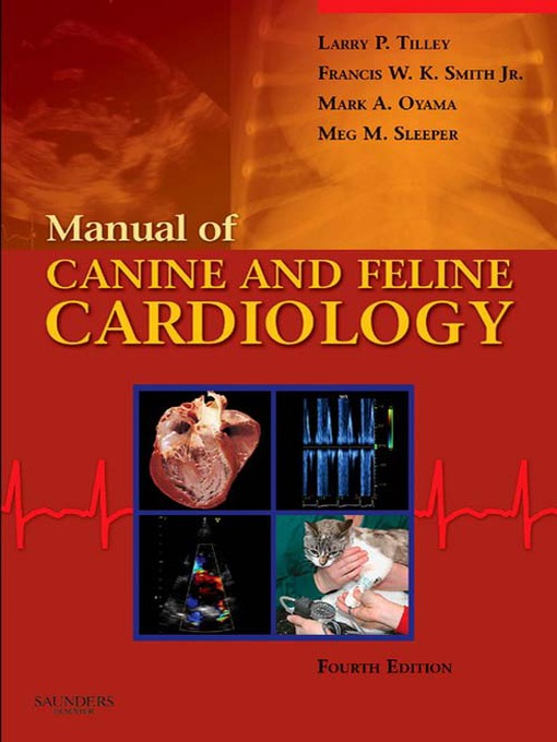 Manual of Canine and Feline Cardiology (eBook)
