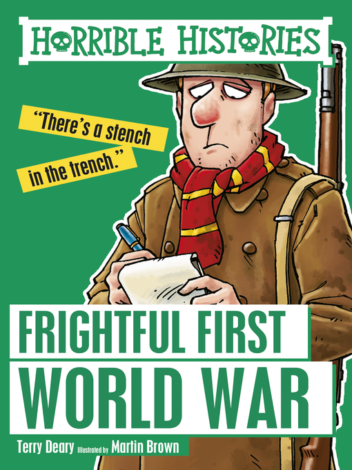 Cover Image of Frightful first world war.