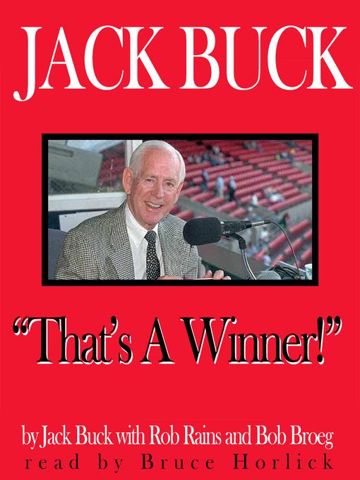 Jack Buck: That's A Winner! (MP3)