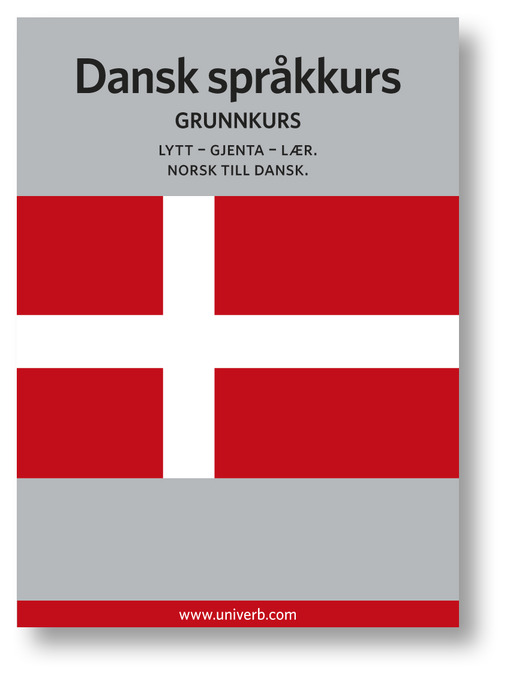 Dansk språkkurs (MP3): Grunnkurs