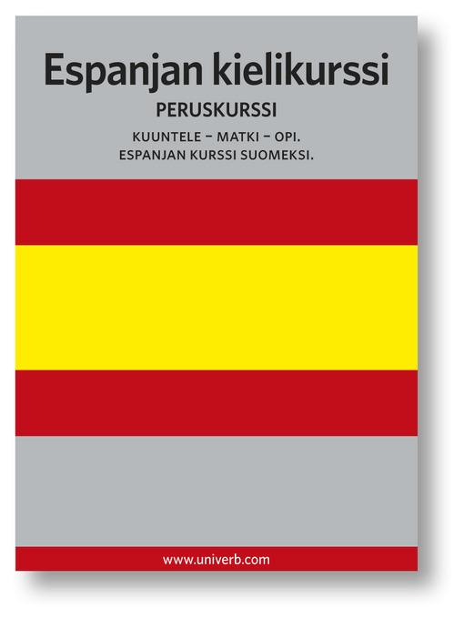 Espanjan kielikurssi (MP3): Peruskurssi