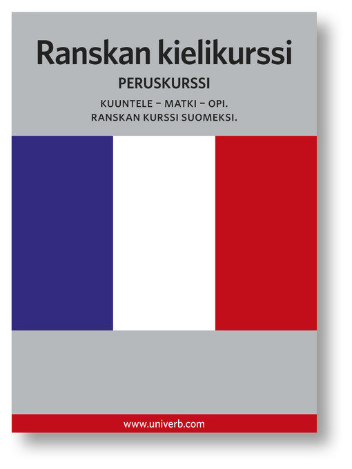 Ranskan kielikurssi (MP3): Peruskurssi