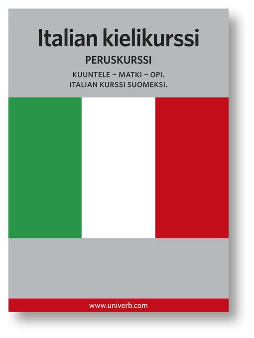 Italian kielikurssi (MP3): Peruskurssi