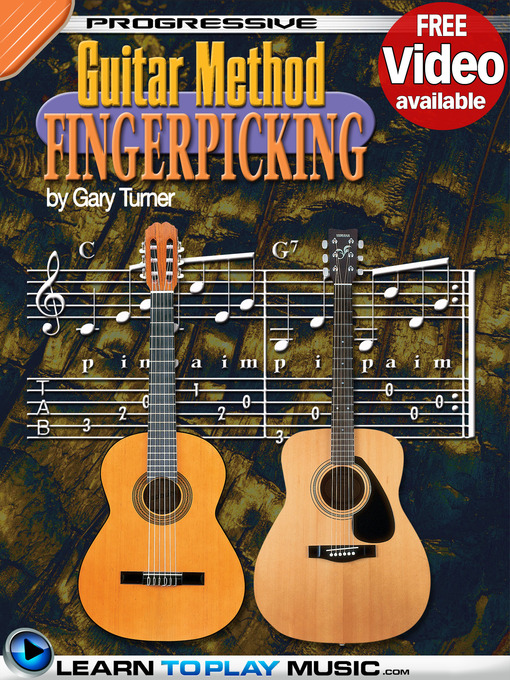 Cover image of Fingerstyle Guitar Lessons for Beginners
