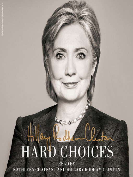 Click this cover for a(n) audiobook sample of Hard Choices.