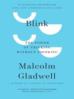 Click here to view eBook details for Blink by Malcolm Gladwell