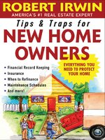 Tips & Traps for New Home Owners