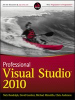 Picture of Professional Visual Studio 2010