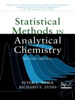 Statistical Methods in Analytical Chemistry