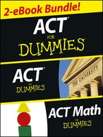 ACT For Dummies Two eBook Bundle