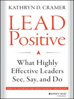 Click here to view eBook details for Lead Positive by Kathryn D. Cramer