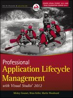 Click here to view eBook details for Professional Application Lifecycle Management with Visual Studio 2012 by Mickey Gousset