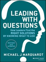 Click here to view eBook details for Leading with Questions by Michael J. Marquardt