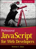 Click here to view eBook details for Professional JavaScript for Web Developers by Nicholas C. Zakas